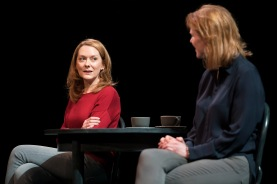 Cathy Belton and Aisling O'Sullivan in The Approach written and directed by Mark O'Rowe Photo: Patrick Redmond